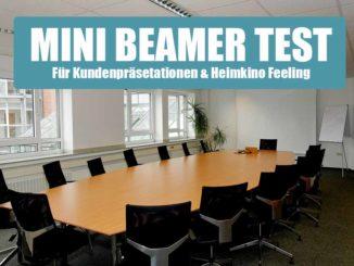 mini beamer test